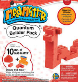 Relevant Play Relevant Play Mad Mattr Quantum Builders Pack 10 oz-Red