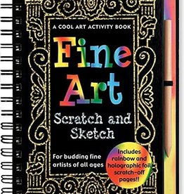 Peter Pauper Press, Inc. Peter Pauper Scratch and Sketch Fine Art Activity Book