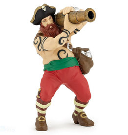 Hotaling Hotaling Papo Red Pirate w/ Cannon 39439