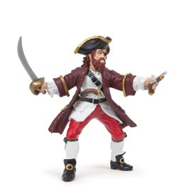 Hotaling Hotaling Papo Red Pirate Barbarossa 39428