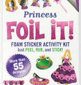Peter Pauper Press, Inc. Peter Pauper Foil It! Princess Foam Sticker Activity Kit