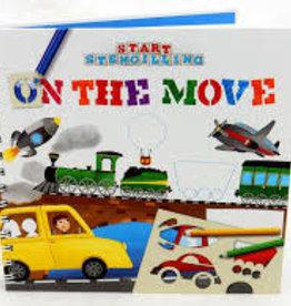 Babalu, Inc. Babalu On the Move Vehicle Stencils Book