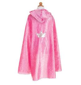 Creative Education Creative Education Great Pretenders Princess Cape, Dark Pink, Size 5-7