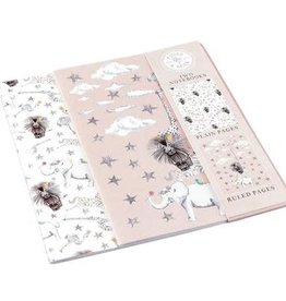 Floss & Rock Floss & Rock Party Animal Pair of Notebooks