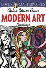 Dover DOVER MASTERWORKS: COLOR YOUR OWN MODERN ART PAINTINGS