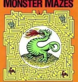 Dover Dover Monster Mazes Activity Book