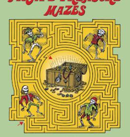 Dover Dover Pirate Treasure Mazes Activity Book