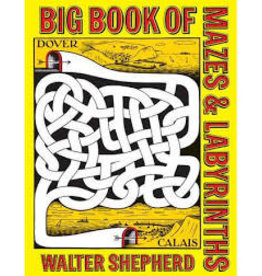 Dover Dover Big Book of Mazes and Labyrinths