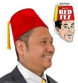 Archie McPhee Wholesale Accoutrements FEZ - RED