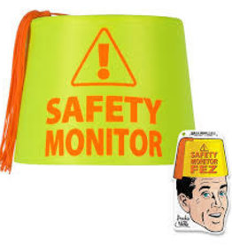 Archie McPhee Wholesale Accoutrements Safety Monitor Fez