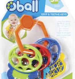 Oball Toysmith Oball Grip & Teethe Keys