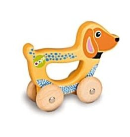 Creative Toy Company Creative Toy Easy Go! Happy the Dog Wooden Toy