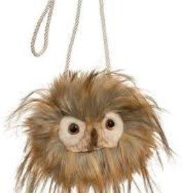 Douglas Douglas Fuzzle Owl Crossbody Bag