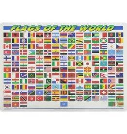 Castle Toys Castle Toys Flags of the World Plasstic Placemat FLG1