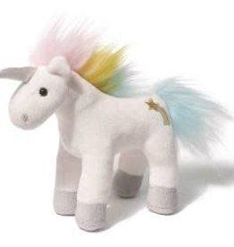 Gund Gund Unicorn Chatters-White w/Rainbow Mane