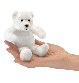 Folkmanis Folkmanis Mini Polar Bear Finger Puppet 2770