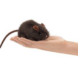 Folkmanis Folkmanis Mini Brown Mouse Finger Puppet 2768