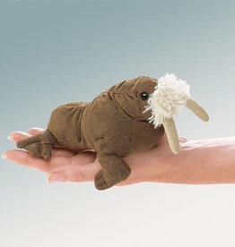 Folkmanis Folkmanis Mini Walrus Finger Puppet 2718