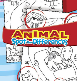 Dover Dover Mini Animal Spot-the-Differences Activity Book
