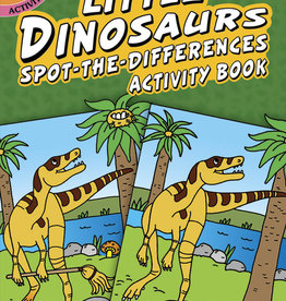 Dover Dover Mini Little Dinosaurs Spot-the-Differences Activity Book