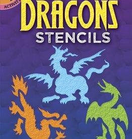 Dover Dover Mini Fun With Dragons Stencils