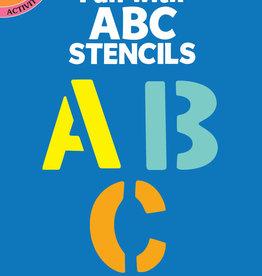 Dover Dover Mini Little Activity Book Fun with ABC Stencils