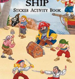 Dover Dover Mini Pirate Ship Sticker Activity Book