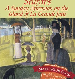 Dover Dover Mini Make a Masterpiece -- Seurat's A Sunday Afternoon on the Island of La Grande Jatte Stickers