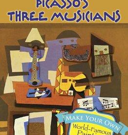 Dover Dover Mini Make a Masterpiece--Picasso's Three Musicians Stickers