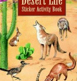 Dover Dover Mini Desert Life Sticker Activity Book