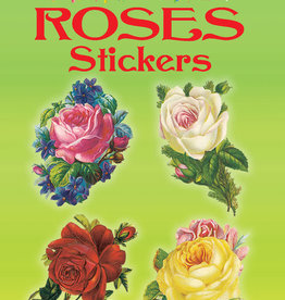 Dover Dover Mini Glitter Roses Stickers