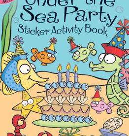 Dover Dover Mini Under the Sea Party Sticker Activity Book