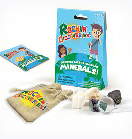 GeoCentral GeoCentral Rockin' Discoveries-Discover Earth's Awesome Minerals!