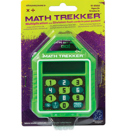 Educational Insights Educational Insights Math Trekker Multiplication/Division Electronic Flashcards