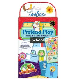 Eeboo Eeboo School Pretend Play Set