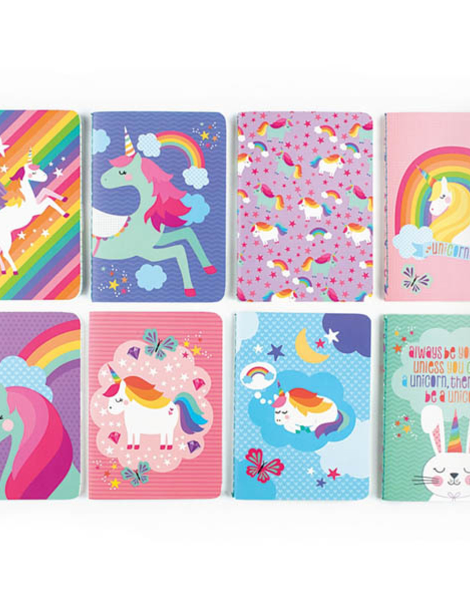 Ooly Ooly Pocket Pal Journal-Unique Unicorns-PINK RAINBOW