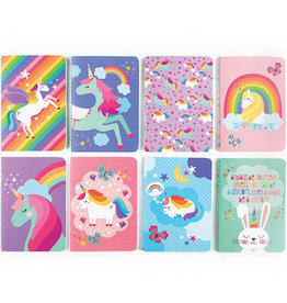 Ooly Ooly Pocket Pal Journal-Unique Unicorns-BLUE RAINBOW