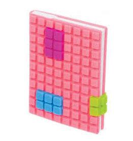 Toysmith Toysmith Pocket Puzzle Plastic Cover Notebook-PINK