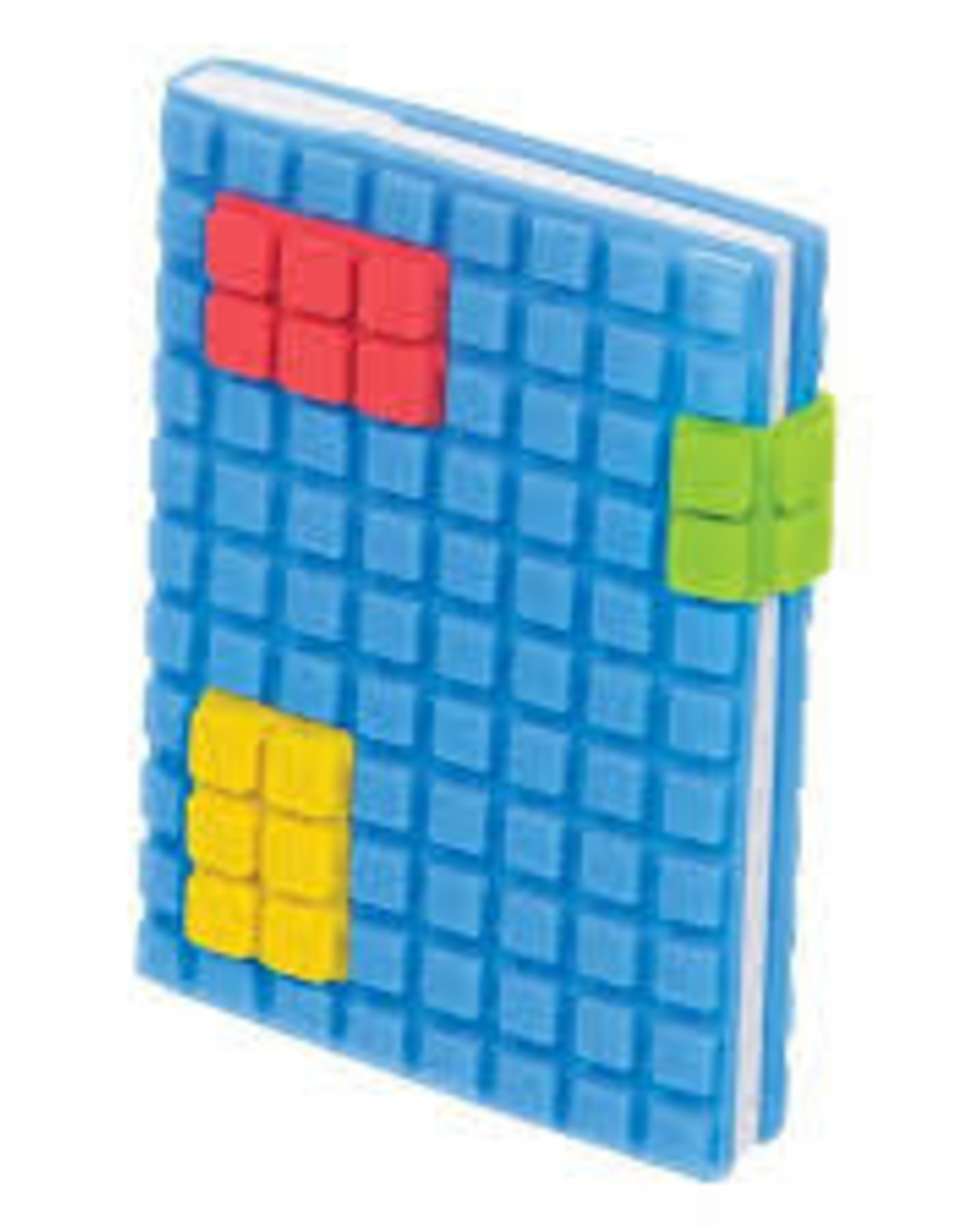Toysmith Toysmith Pocket Puzzle Plastic Cover Notebook-BLUE