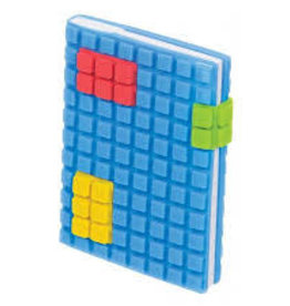 Toysmith Toysmith Pocket Puzzle Plastic Cover Notebook-BLUE