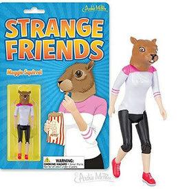 Archie McPhee Wholesale Accoutrements Strange Friends Maggie Squirrel Action Figure