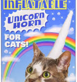 Archie McPhee Wholesale Accoutrements UNICORN - CAT - INFLATABLE HORN