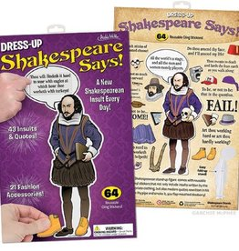 Archie McPhee Wholesale Accoutrements Dress-Up Shakespeare Says!