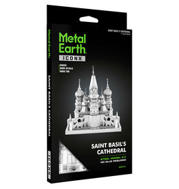 Fascinations Fascinations Metal Earth Iconx Saint Basil's Cathedral Steel Model Kit