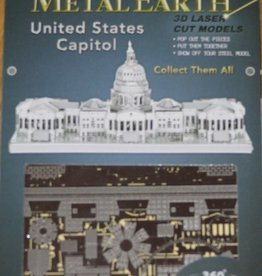 Fascinations Fascinations Metal Earth US Capitol Building Steel Model Kit
