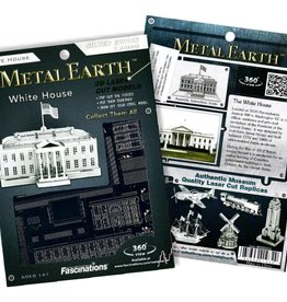 Fascinations Fascinations Metal Earth The White House Steel Model Kit