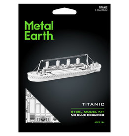 Fascinations Fascinations Metal Earth Titanic Ship Steel Model Kit