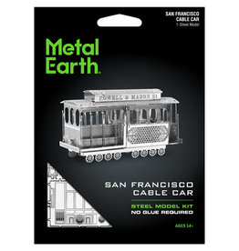 Fascinations Fascinations Metal Earth Cable Car Steel Model Kit