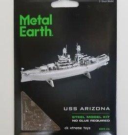 Fascinations Fascinations Metal Earth USS Arizona Ship Steel Model Kit