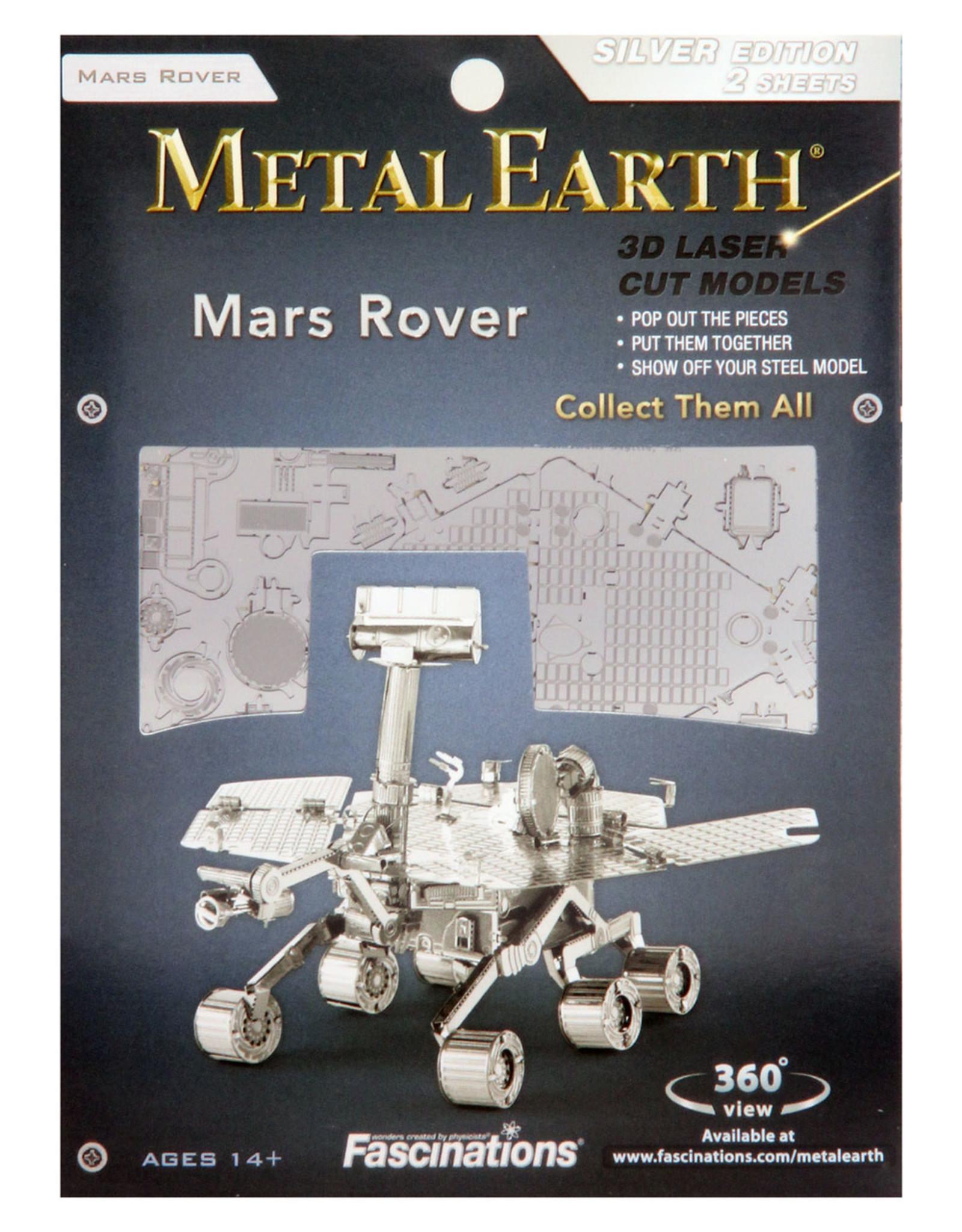 Fascinations Fascinations Metal Earth Mars Rover Steel Model Kit